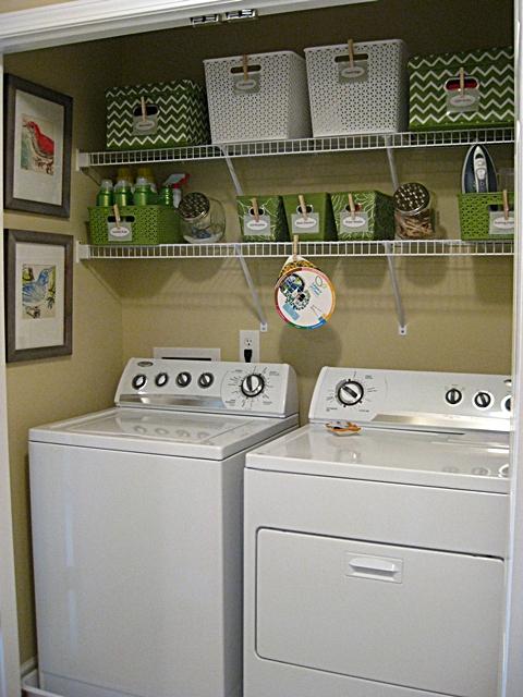 Amy's laundry closet