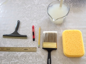 Tools for wallpaper