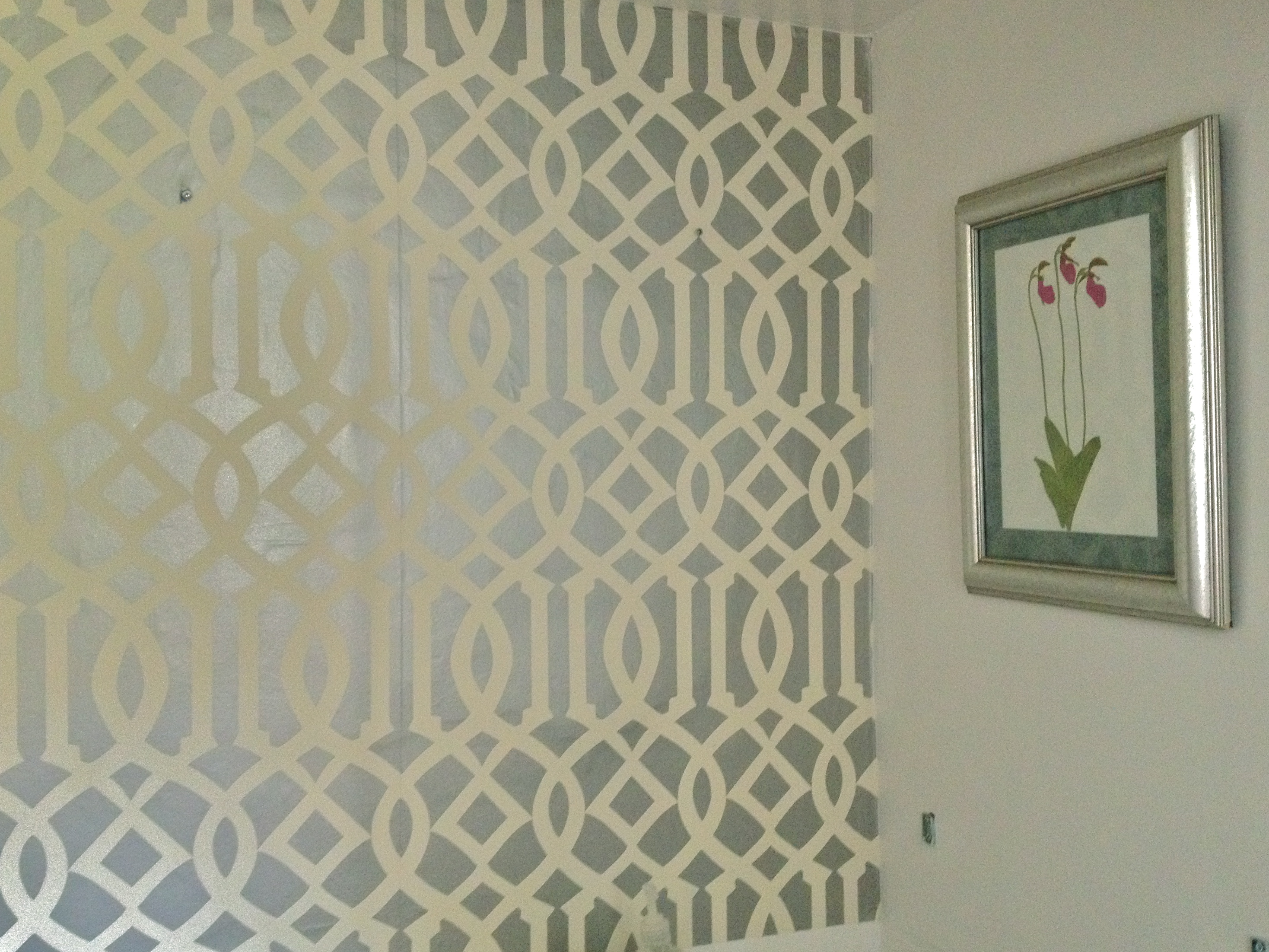 green trellis wallpaper schumacher - photo #22