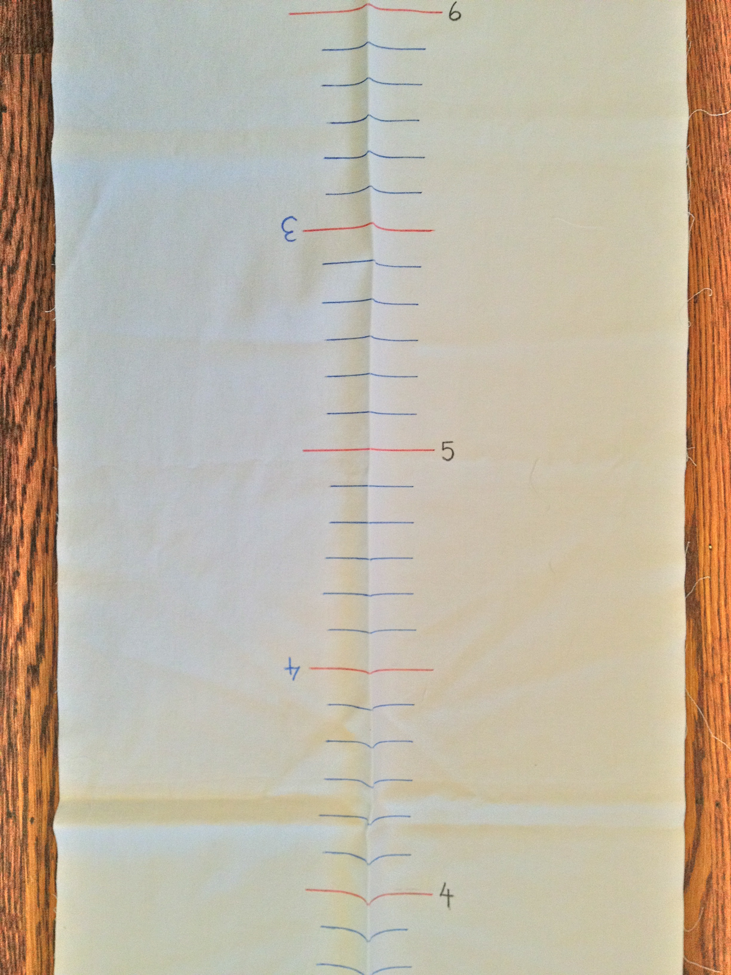 Sew a growth chart tutorial jewels at home growth chart geenschuldenfo Images