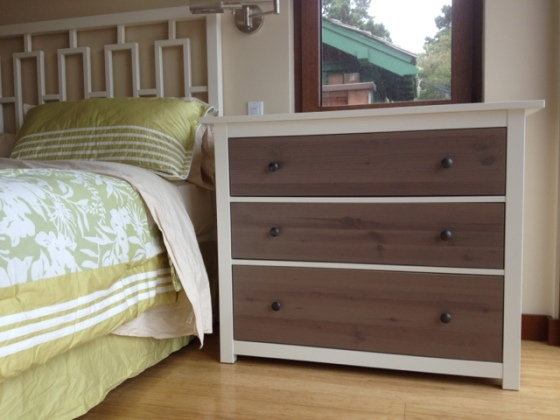 Ikea Hemnes dresser hack - swap the drawers for a coastal transformation. By Jewels at Home