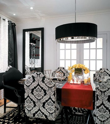 Candice Olson Dining Room Featured In Elle Decor
