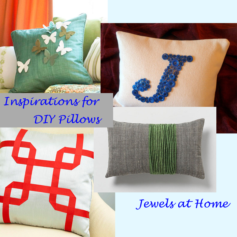 Throw Pillow Sewing Instructions : Decorative Pillows to Sew ? Idea Book Jewels at Home