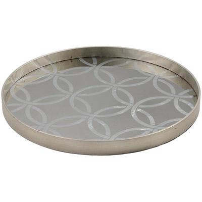 Circles Silver Tray