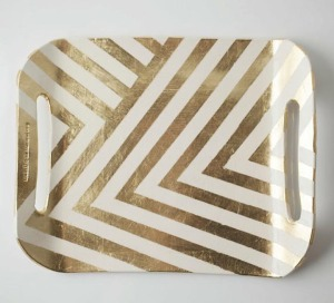 painter's tape tray