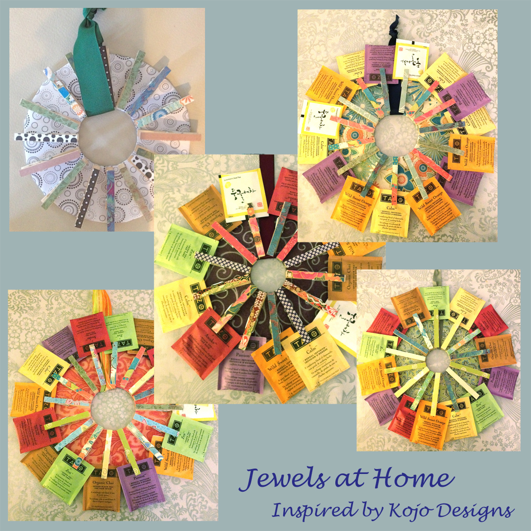 Scrapbook Paper Clothespin Wreaths {Inspired by Kojo Designs ...