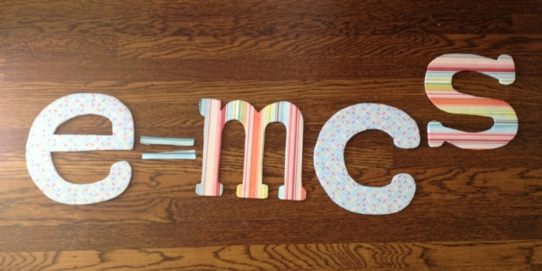 Fun with DIY initials by Jewels at Home