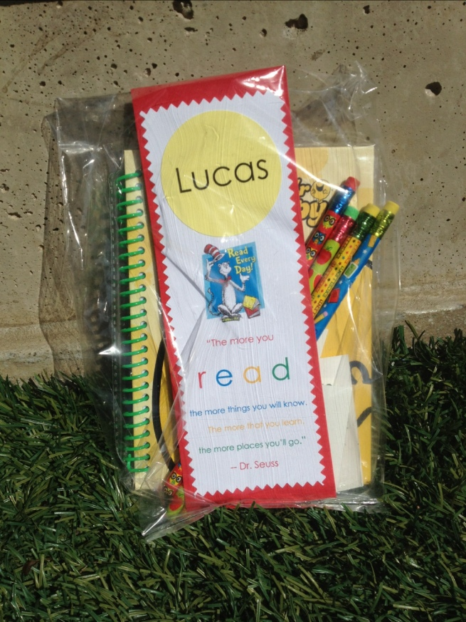Kindergarden graduation favors at Jewels at Home
