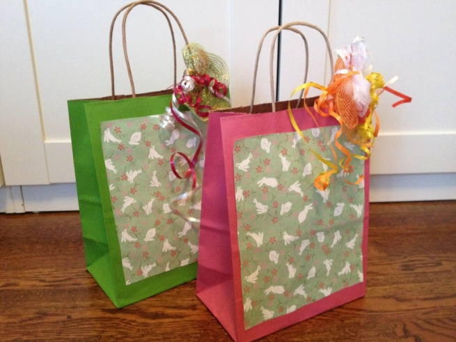 DIY gift bags by Jewels at Home