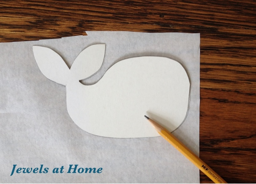 Sketch Your Design Onto The Paper Side Of The Heat U0027n Bond.
