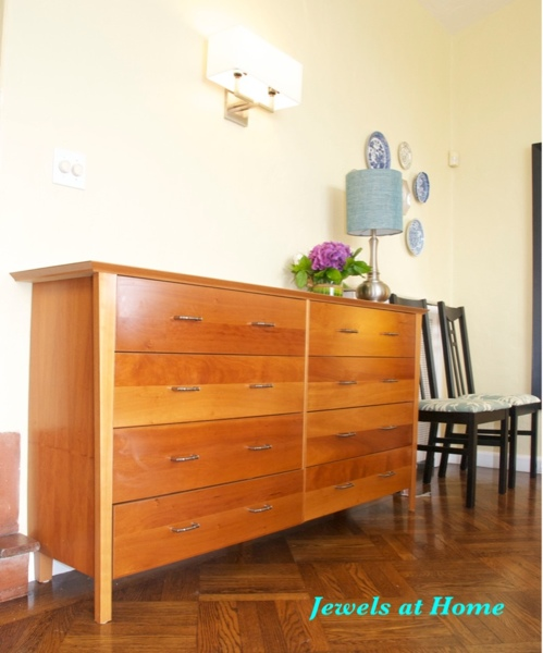 New hardware gives an old dresser new life.
