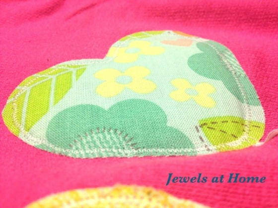 3-D balloon applique by Jewels at Home