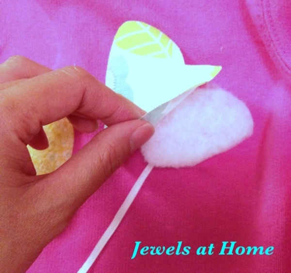 3-D applique tutorial from Jewels at Home.
