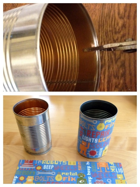 DIY pencil tin tutorial from Jewels at Home.