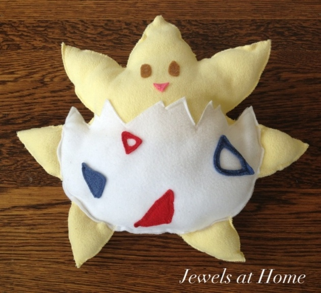 Togepi Pokemon doll.  From Jewels at Home.