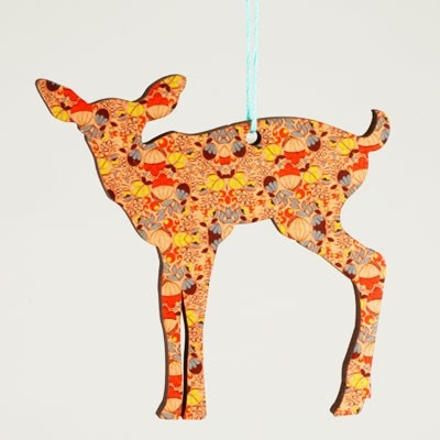 Animal Silhouette Christmas Ornaments | Jewels at Home