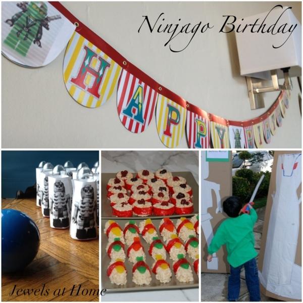 A Lego Ninjago Birthday Party: Ninjago Party €� Part 2: Activities