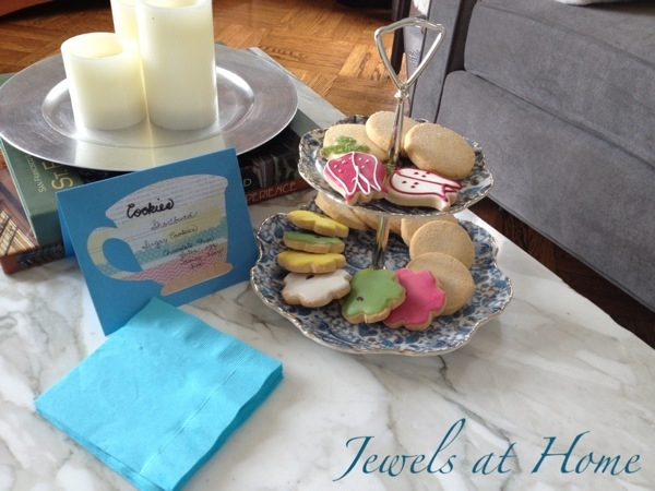 Vintage afternoon tea party.  {Jewels at Home}