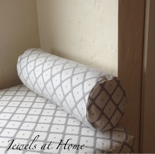 Pillows for dressing a daybed jewels at home Sew bolster pillow cover