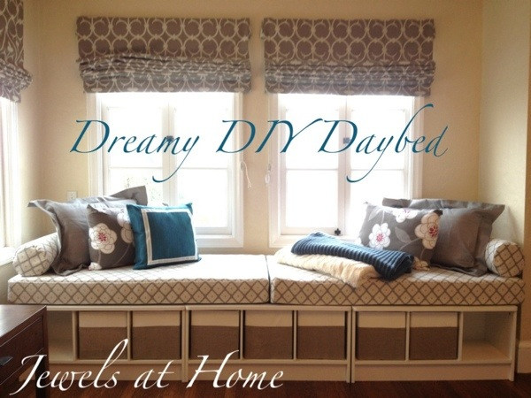 Fabulous Dreamy DIY Daybed | Jewels at Home AT12