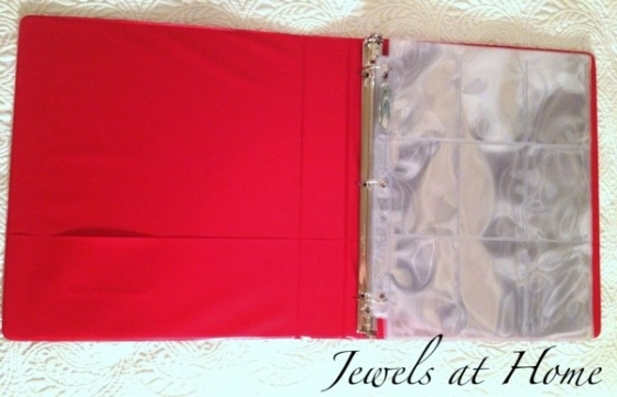 Personalized collecting card binders for the boys | Jewels at Home
