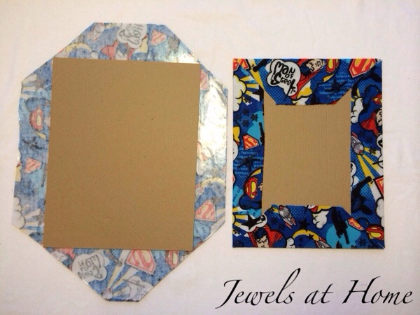 Make your own fabric-covered DIY notebooks | Jewels at Home