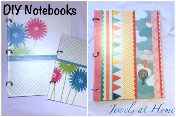 Make your own customized DIY notebooks | Jewels at Home