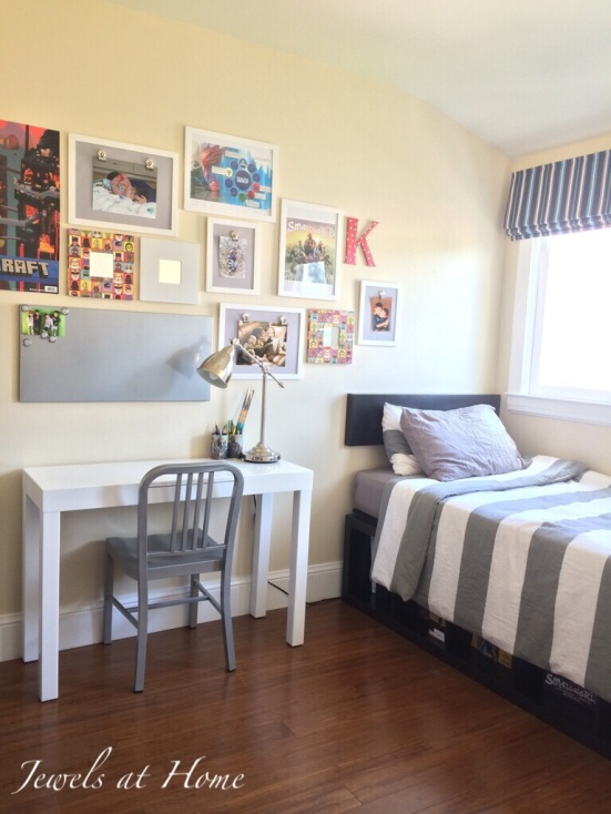 Cool and compact tween boy's room | Jewels at Home