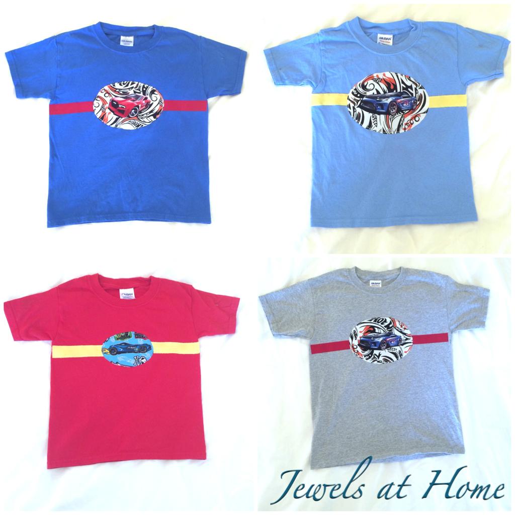 Diy Hot Wheels T Shirts Jewels At Home