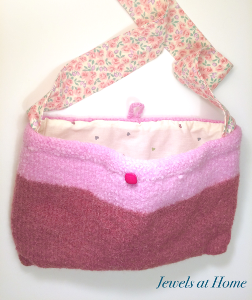 Make these little girls' felted purses | Jewels at Home