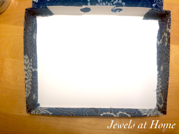 Hide your electronics in this pretty DIY box | Jewels at Home
