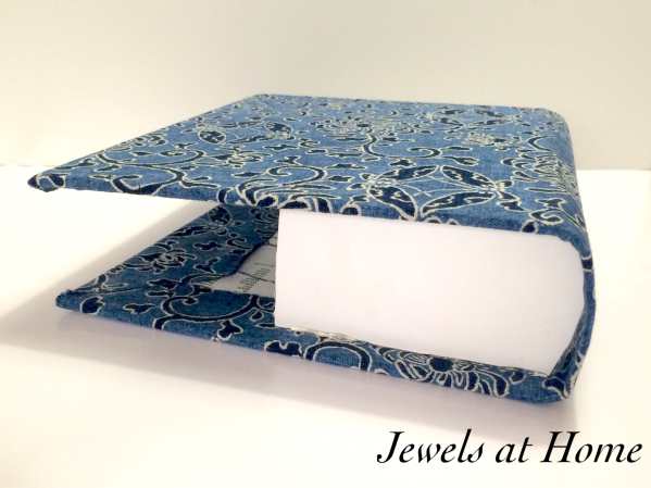 Turn an old book in to a disguise for your electronics | Jewels at Home