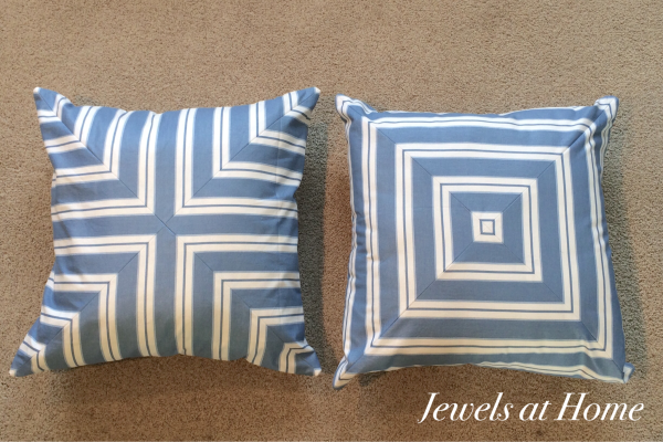 From Simple Stripes to Great Graphic Throw Pillows | Jewels at Home