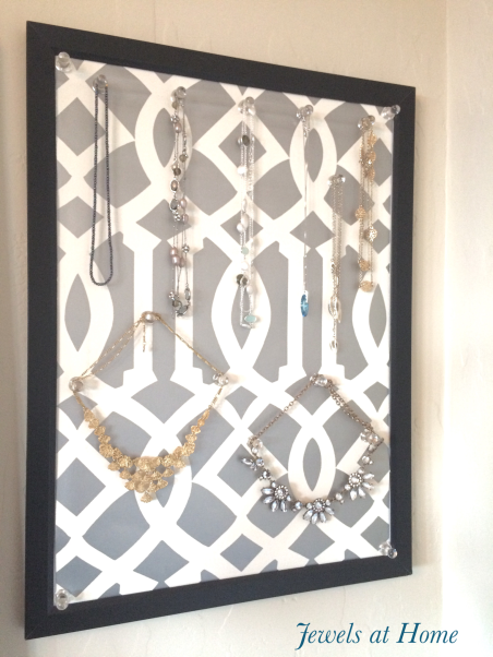 Easy DIY Jewelry Display Board | Jewels at Home