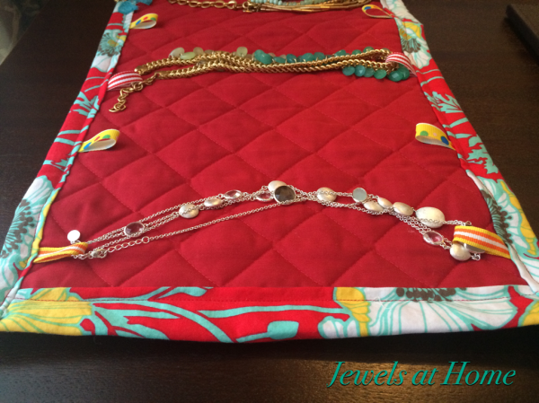 Sew A Travel Jewelry Case Jewels At Home