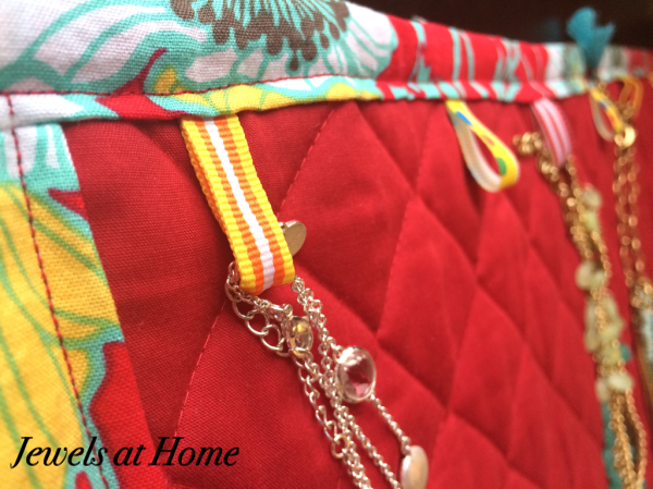 Tutorial for a jewelry travel case | Jewels at Home