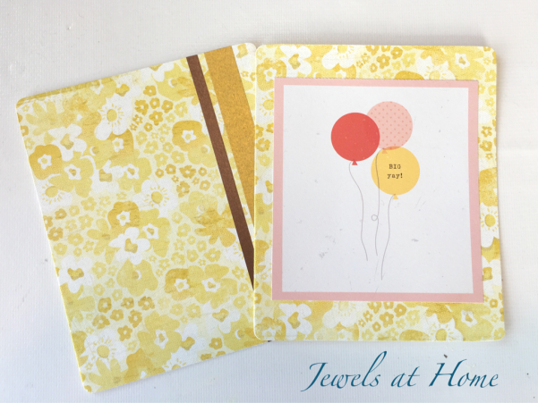 Playing with Paper: Custom Greeting Cards | Jewels at Home
