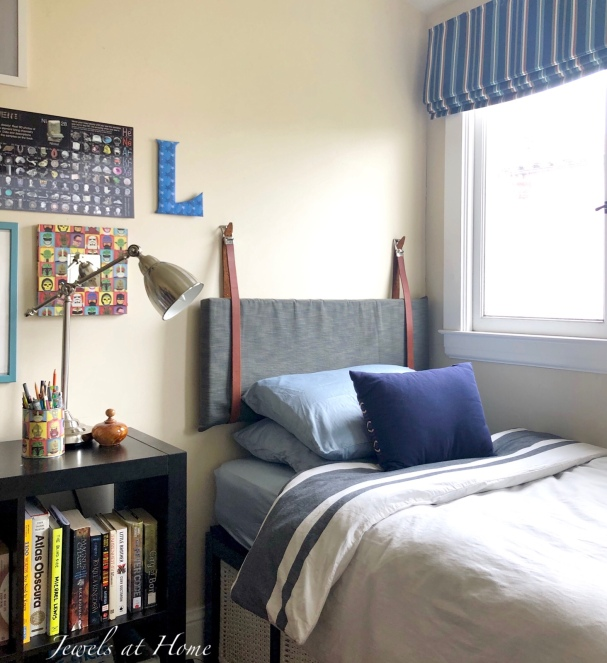 Diy Hanging Pillow Headboard Jewels At Home